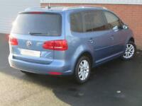 Volkswagen Touran SE TDI DSG (blue) 2013-03-28