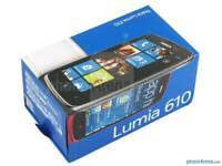 Nokia Lumia 610 Brand new with warranty and accessories unlocked!
