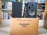 Wharfedale Diamond Pro - Black - Good Condition - Boxed