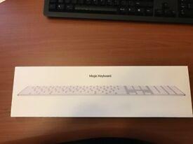 Apple Magic Bluetooth QWERTY UK English Keyboard - White