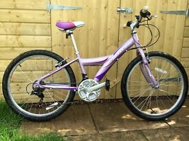 "Claud Butler Nemesis 24"" Girls Bike - 18 Speed"