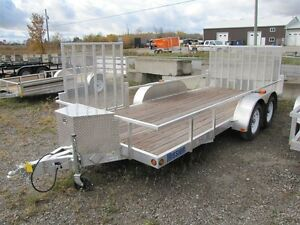 2017 Mission Trailers 16' Aluminum Landscape Trailer