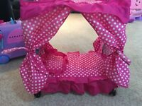 Four poster dolls bed