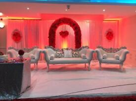 AFRICAN & CARIBBEAN WEDDING & VENUE DECORATION, CATERING EQUIPMENT HIRE