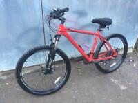 "Carrera Vulcan mountain bike / medium 18"" frame"