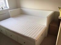 IKEA Hemnes bed in good condition with mattress // delivery available