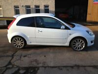 07 PLATE FORD FIESTA 2.0ST IN WHITE 71700MILES FSH £3500