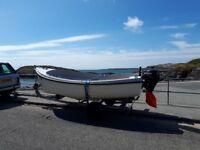 dell quay fisher 15' foot fishing boat