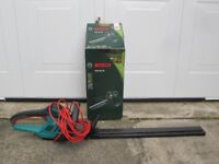 Bosch CORDED 63CMS HEDGE CUTTER FOR SALE.