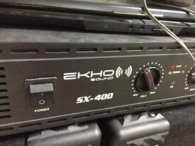 Ekho SX400 Amplifier
