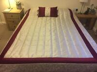 Bedspread, bedding, curtains, cushions & accessories