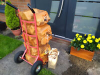 5 NETS - hardwood logs - FREE DELIVERY within Bristol area