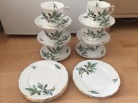 Bone china - tea set