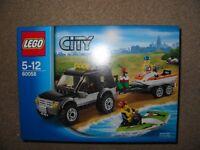 LEGO CITY SUV/JET SKI - AGE 5-12, SEALED/NEVER USED - READY NOW