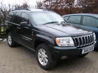 jeep grand cherokee limited 60th edition diesel auto service record great specification £1695