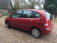 CHEAP LOW MILEAGE RENAULT SCENIC 1.6 MANUAL - MOT & SERVICE - PART EX TO CLEAR