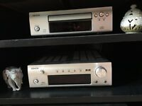 Denon Mini-HiFi system - DAB - CD - Speakers (like new)