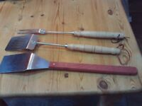 BBQ cooking implements / tools