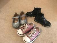 Girls infant shoes size 5 and 6