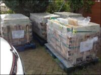 Beautiful new Indian sandstone paving slabs - 4 pallets approx total just under 60sq metres