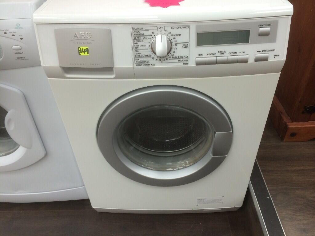 aeg lavamat turbo 16850 washer dryer in derby. Black Bedroom Furniture Sets. Home Design Ideas