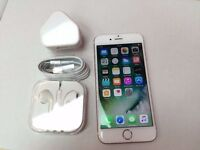Apple iPhone 6s 16GB, Rose Gold, Unlocked, +WARRANTY, NO OFFERS