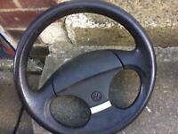 Vw golf mk2 steering wheel