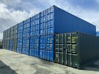 Flexible Storage Solutions - Container Self Storage, Ground Floor 40ft Containers secure lock ups