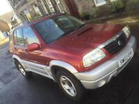 2003 Suzuki vitara diesel , full years mot , cheap 4x4