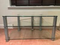 Alphason Glass TV stand
