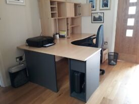 Quality Office Furniture - Desk and matching office furniture