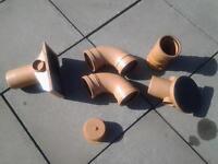Various Osma drainage fittings