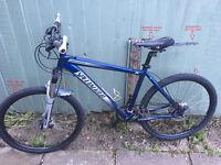 "Mountain Bike Specialized Hardrock 26"" Blue Large Hardtail MTB"
