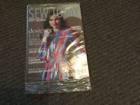 sew today the essential sewing magazine new sealed october 2017