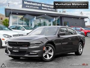 2015 DODGE CHARGER SXT |FAC.WARRANTY|ALLOYS|PHONE|FOGS|LEDLIGHTS