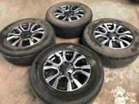 "Ford Ranger Wildtrack 18"" Alloy Wheels"