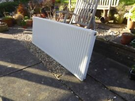Single Panel Central Heating Radiator with TRV
