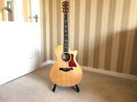 Taylor 812ce electro acoustic guitar