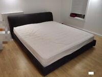 due to be picked up. FREE Kingsize bed and mattress - great condition and super comfortable