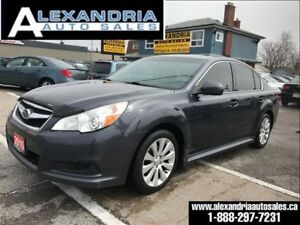 2010 Subaru Legacy Limited leather p/sunroof safety included