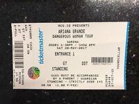 Ariana Grande Concert Ticket