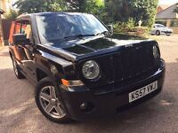 2008 Jeep Patriot 2.0 CRD Limited - Black - Top Spec