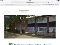 1 bed ground floor flat , solihull .leashold