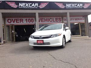 2012 Honda Civic LX AUT0 A/C CRUISE ONLY 50K