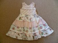 Girls Next Dress Aged 5-6 Years