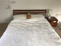 Quality double bed and mattress for sale by 10 September
