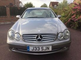 mercedes clk 270 elegance coupe full memory leather cruise control top of the range