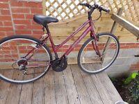 Ladies Apollo cx.10 Bicycle in good condition