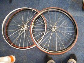 Mavic CXP 21 Wheels and Tyres.