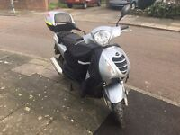 honda pes psi ps 125 cc very good powerfull bike 2014 must see only 8k on the clock